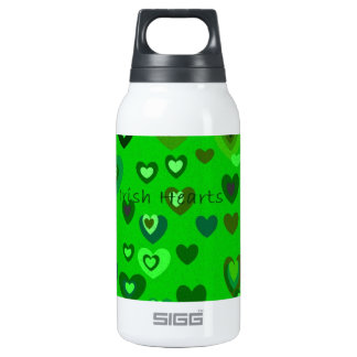 Lucky Hearts St Patrick's Day collection Insulated Water Bottle