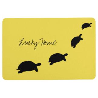 Lucky Home Tortoises Floor Mat