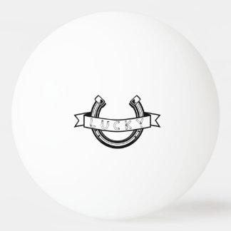 Lucky horseshoe Good Luck Ping Pong Ball