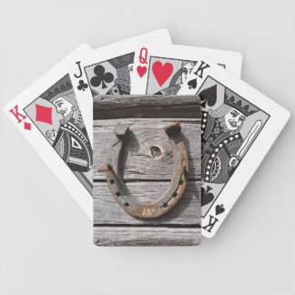 Lucky Horseshoe Playing Cards