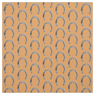 Lucky Horseshoes Fabric