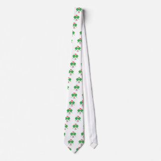 Lucky In Love Hearts Clover Tie