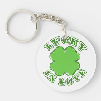 Lucky in Love Keychain