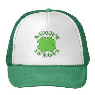Lucky in Love Trucker Hat