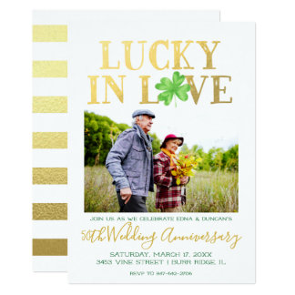 Lucky in Love | Wedding Anniversary Card