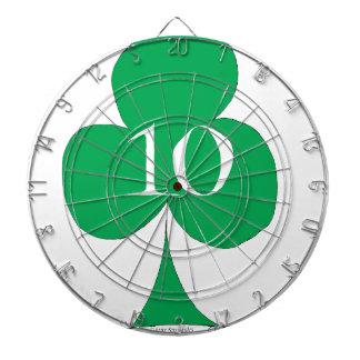 Lucky Irish 10 of Clubs, tony fernandes Dartboard