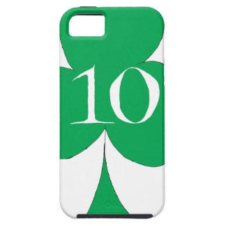 Lucky Irish 10 of Clubs, tony fernandes iPhone 5 Case