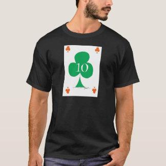 Lucky Irish 10 of Clubs, tony fernandes T-Shirt