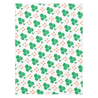 Lucky Irish 10 of Clubs, tony fernandes Tablecloth