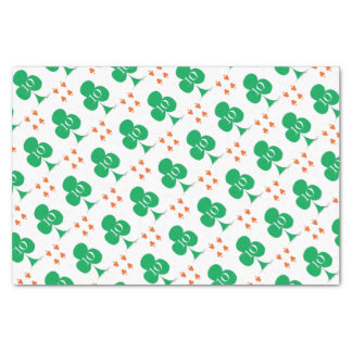 Lucky Irish 10 of Clubs, tony fernandes Tissue Paper