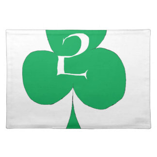 Lucky Irish 2 of Clubs, tony fernandes Placemat