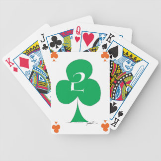 Lucky Irish 2 of Clubs, tony fernandes Poker Deck