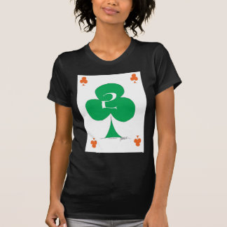 Lucky Irish 2 of Clubs, tony fernandes T-Shirt