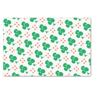 Lucky Irish 2 of Clubs, tony fernandes Tissue Paper