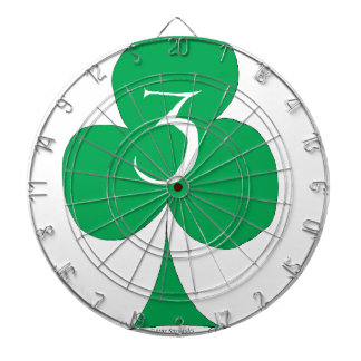 Lucky Irish 3 of Clubs, tony fernandes Dartboard