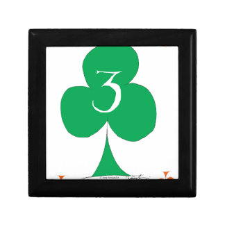 Lucky Irish 3 of Clubs, tony fernandes Gift Box