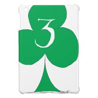 Lucky Irish 3 of Clubs, tony fernandes iPad Mini Cases
