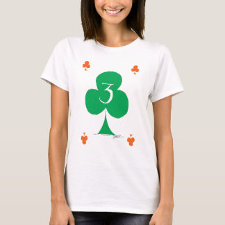Lucky Irish 3 of Clubs, tony fernandes T-Shirt
