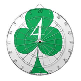 Lucky Irish 4 of Clubs, tony fernandes Dartboard