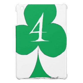Lucky Irish 4 of Clubs, tony fernandes iPad Mini Covers
