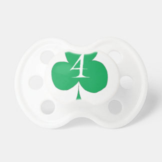 Lucky Irish 4 of Clubs, tony fernandes Pacifier