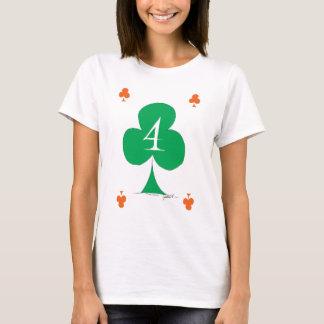 Lucky Irish 4 of Clubs, tony fernandes T-Shirt