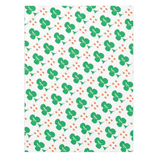 Lucky Irish 4 of Clubs, tony fernandes Tablecloth