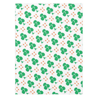 Lucky Irish 5 of Clubs, tony fernandes Tablecloth