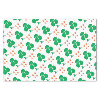 Lucky Irish 5 of Clubs, tony fernandes Tissue Paper