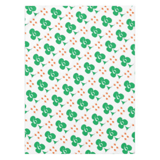 Lucky Irish 6 of Clubs, tony fernandes Tablecloth