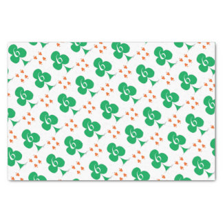 Lucky Irish 6 of Clubs, tony fernandes Tissue Paper