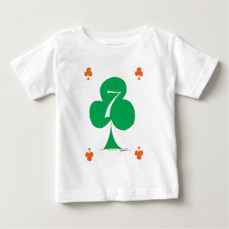 Lucky Irish 7 of Clubs, tony fernandes Baby T-Shirt
