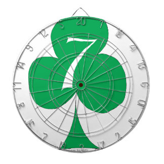 Lucky Irish 7 of Clubs, tony fernandes Dartboard