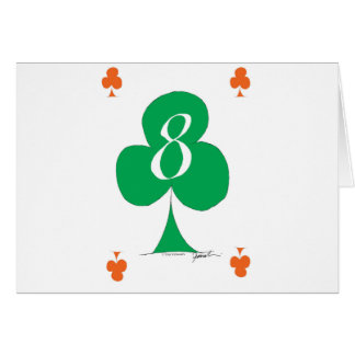 Lucky Irish 8 of Clubs, tony fernandes Card