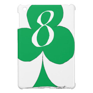 Lucky Irish 8 of Clubs, tony fernandes Cover For The iPad Mini