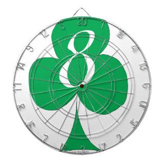 Lucky Irish 8 of Clubs, tony fernandes Dartboard