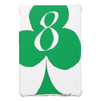 Lucky Irish 8 of Clubs, tony fernandes iPad Mini Covers