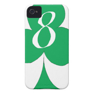 Lucky Irish 8 of Clubs, tony fernandes iPhone 4 Cover