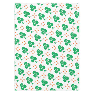 Lucky Irish 8 of Clubs, tony fernandes Tablecloth