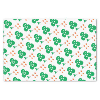Lucky Irish 8 of Clubs, tony fernandes Tissue Paper