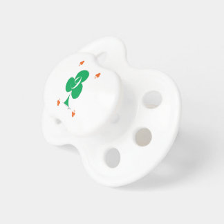 Lucky Irish 9 of Clubs, tony fernandes Pacifier
