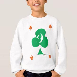 Lucky Irish 9 of Clubs, tony fernandes Sweatshirt