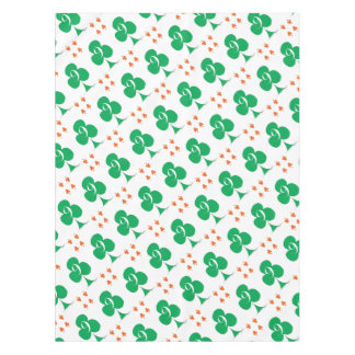 Lucky Irish 9 of Clubs, tony fernandes Tablecloth