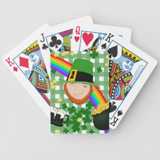 Lucky Irish Bicycle Playing Cards