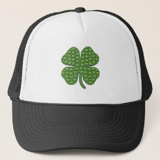 Lucky Irish Clover Trucker Hat