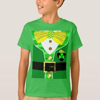 Lucky Irish Leprechaun Paddy's Day Funny Novelty T-Shirt