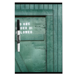 Lucky Irish Pub Dry Erase Whiteboard