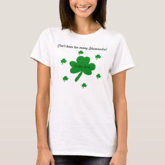 Lucky Irish Shamrocks T-Shirt
