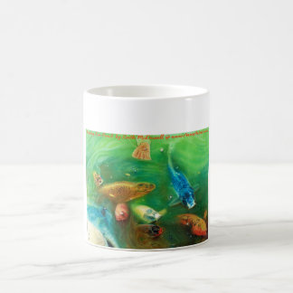 Lucky Koi Pond: www.AriesArtist.com Coffee Mug