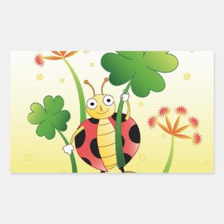 Lucky Ladybird Sticker